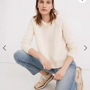 Madewell Open-Stitch Hopedale Pullover Sweater MD925
